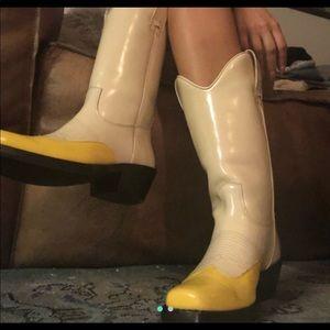 Calvin Klein cowboy boots